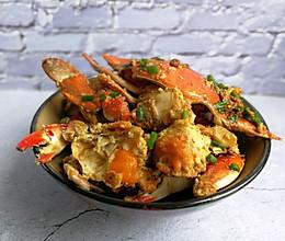 简单烧梭子蟹的做法