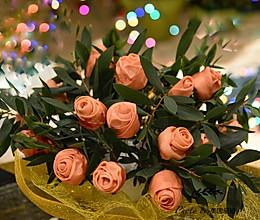 送你一束玫瑰花馒头祝有情人终成眷属!的做法