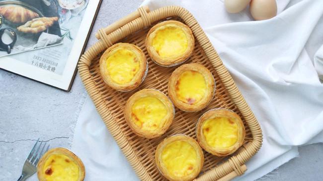 葡式蛋挞-无淡奶油、全蛋的做法