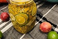 柠檬百香果蜜的做法