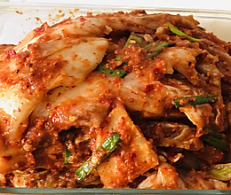 冬季必做开胃菜~辣白菜的做法
