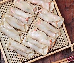 野生北极虾之个个有虾的外焦里嫩的锅贴 的做法
