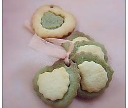 抹茶双色饼干的做法