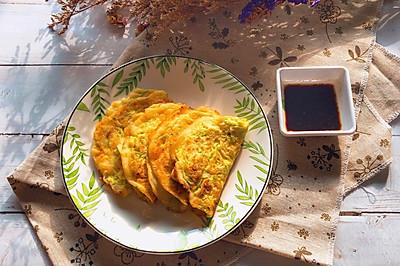 快手早餐—西葫芦鸡蛋饼