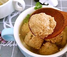 清水丸子汤的做法