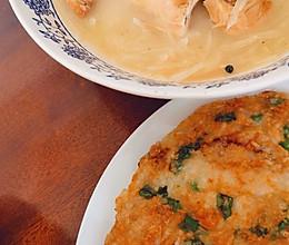 神级炒饭➕白萝卜鱼汤的做法