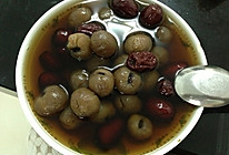 红枣桂圆汤的做法