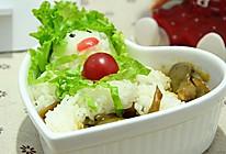 咖喱蘑菇饭#咖喱萌太奇#的做法