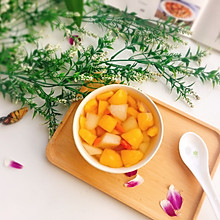 #精品菜谱挑战赛#冰糖枇杷雪梨汤