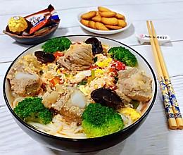 #元宵节美食大赏#番茄鸡蛋排骨面的做法