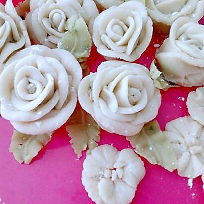 白豆沙裱花