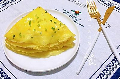 葱花鸡蛋饼