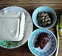 肉末豆腐的做法图解1