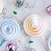 彩虹棉花棒棒糖-超梦幻!最软柔的棒棒糖