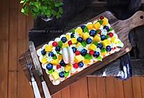 奶油水果蛋糕#暖色秋季#的做法