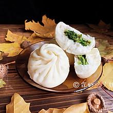 #今天吃什么#香菇素菜包