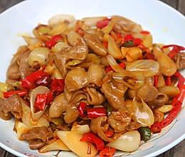 酸辣炒肥肠的做法