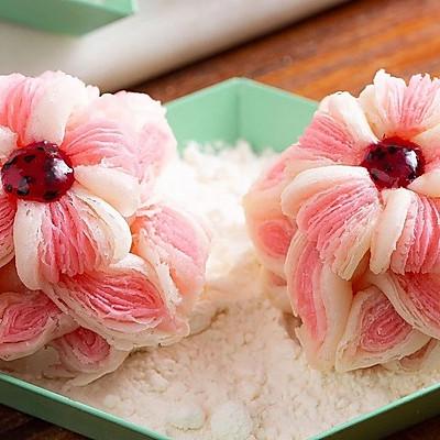 【芙蓉酥】面团做出一朵花,色香味全酥掉渣!