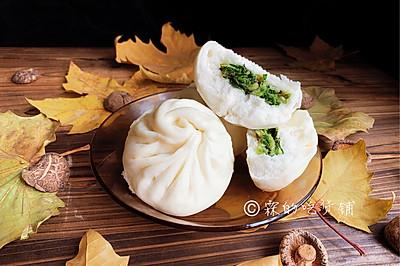 香菇素菜包