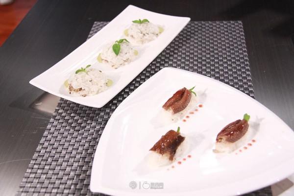鳝鱼寿司和米饭堡 —《顶级厨师》参赛作品的做法