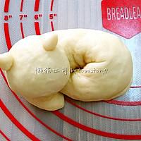 我愿化作一只喵,卧在面包上——学做懒猫吐司大赛的做法图解11