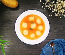 土豆丸子汤的做法