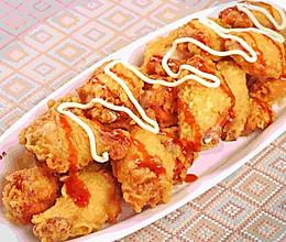 炸鸡配泰式甜辣酱的做法