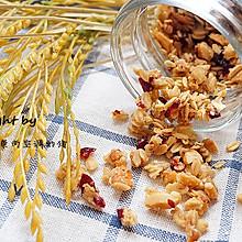 蔓越莓谷物麦片#美的微波炉菜谱#