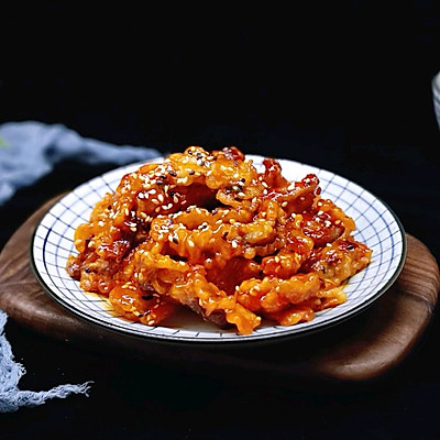 茄汁里脊肉