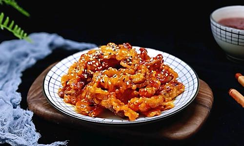 茄汁里脊肉的做法