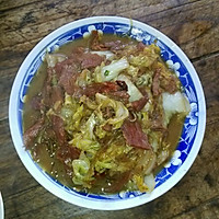 大白菜牛肉炖粉条的做法图解4