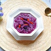 紫薯银耳甜汤#洗手作羹汤#