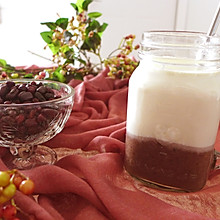蜜豆牛奶杯