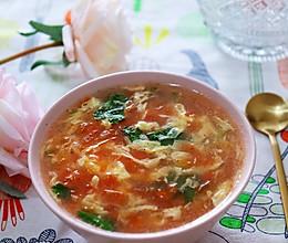 番茄蛋花汤 | 完美的要点都在这里的做法