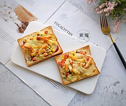 快手早餐—吐司披萨的做法