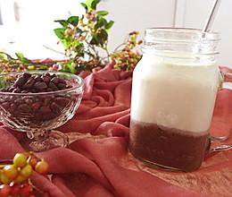 蜜豆牛奶杯的做法