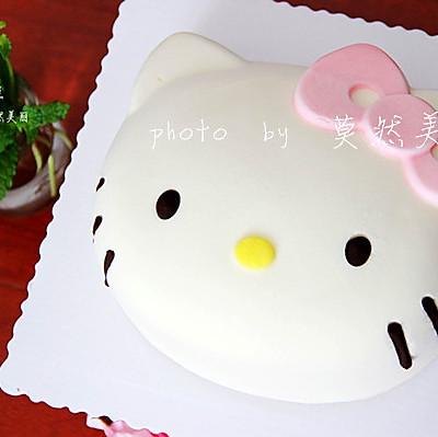 萌一夏--kitty酸奶慕斯蛋糕