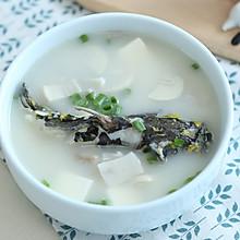 黄骨鱼菌菇汤 宝宝辅食微课堂