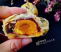 麻薯肉松蛋黄酥的做法