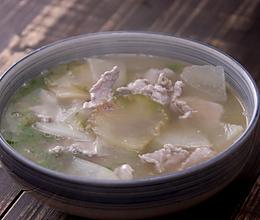 【榨菜肉片汤】榨菜与猪肉这样烧,没人吃不起!的做法