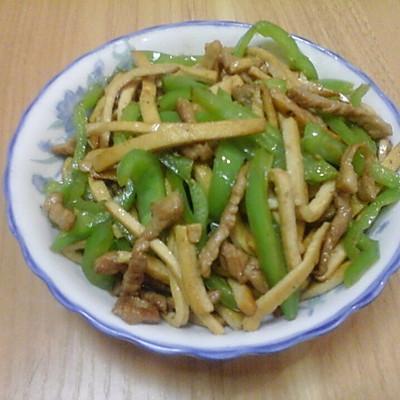 豆干炒肉丝
