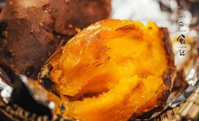 烤箱版烤红薯|日食记