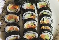 紫菜寿司的做法