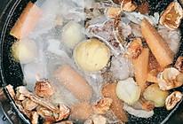 姬松茸板栗汤的做法