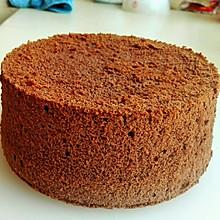 详细步骤六寸可可戚风蛋糕 巧克力味浓郁