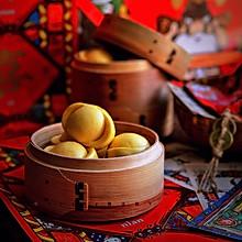 黄金万两 元宝馒头#年味十足的中式面点#