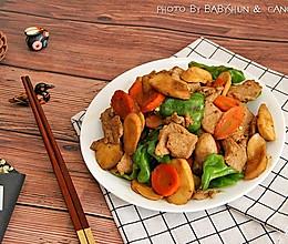 杏鲍菇炒肉片#金龙鱼外婆乡小榨菜籽油 最强家乡菜#