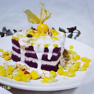 紫薯山药玉米挞