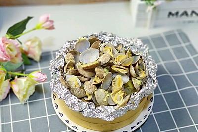 金針菇蒸花蛤