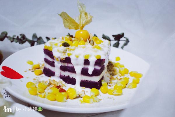 紫薯山药玉米挞的做法